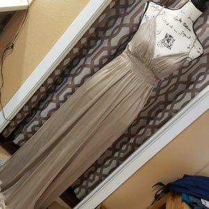 Victoria's Secret Cross Back Tie Maxi Dress
